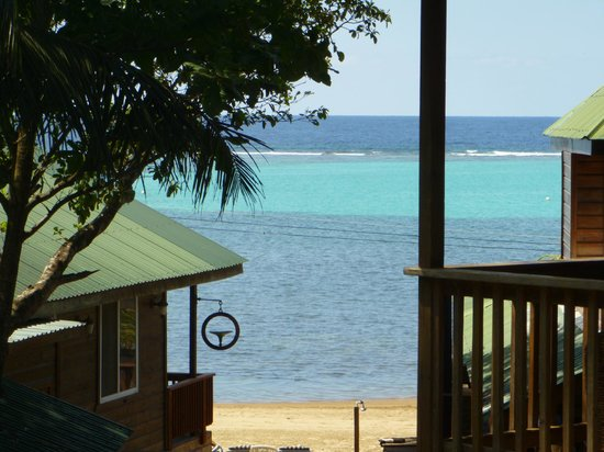 Blue Bahia Resort: view from our deck in the loft