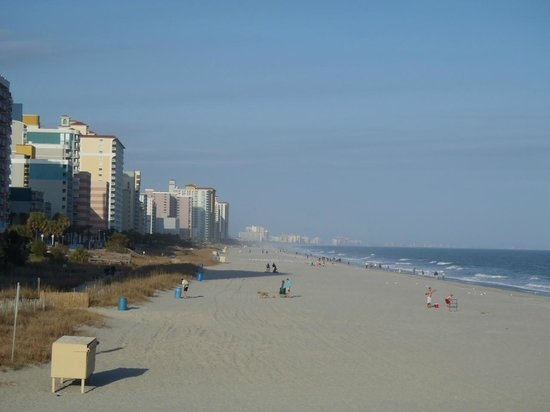 View Of Myrtle Beach From Pier 14