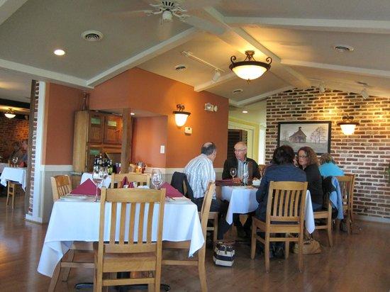 Brick Ridge Restaurant : The side dining room.
