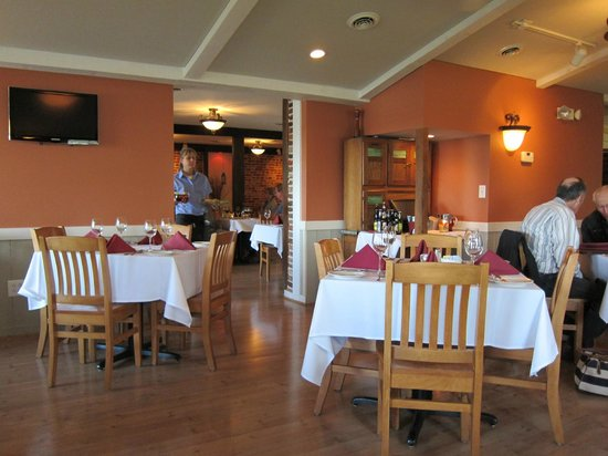 Brick Ridge Restaurant : A view from the side dining room.