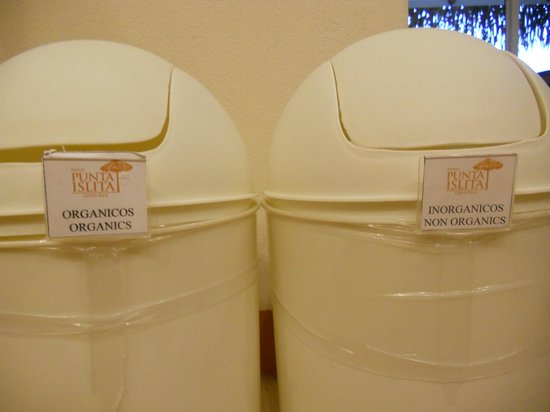Hotel Punta Islita, Autograph Collection: committed to recycling :)