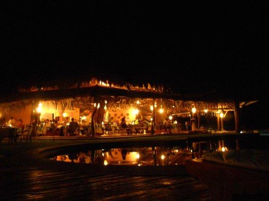 Hotel Punta Islita, Autograph Collection: main restaurant at night
