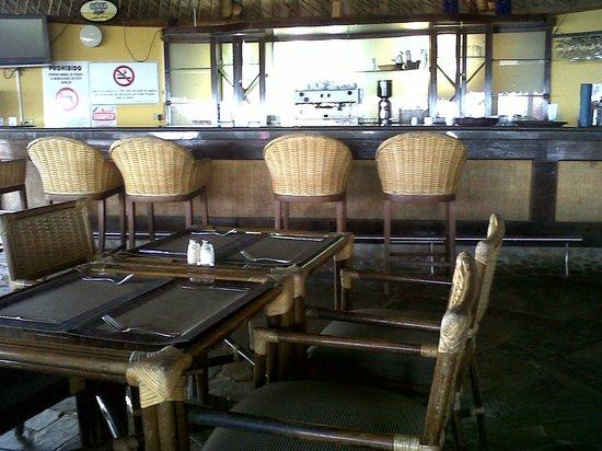 Hotel Eco Inn: Barra en la churuata