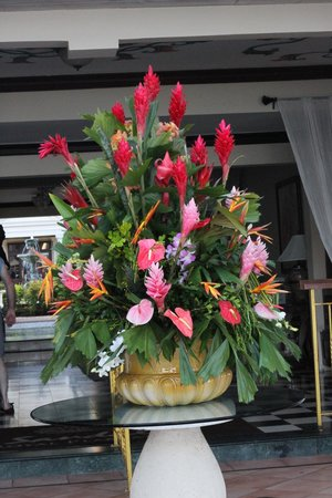 Sandals Royal Plantation: Fresh flowers everyday!