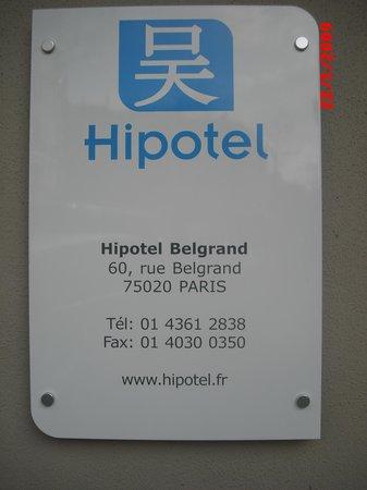 Belgrand Hotel : PLaca do hotel