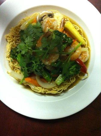 Restaurant Charme Cochinchine: nid hirondelle au fruits de mer