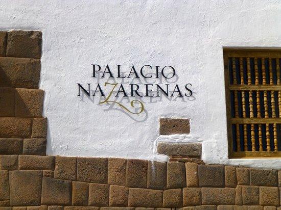 Belmond Palacio Nazarenas: Hotel