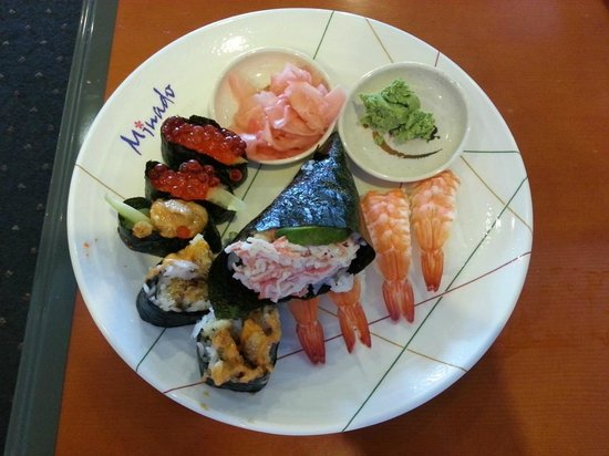 Minado front - Picture of Minado Japanese Seafood Buffet ...