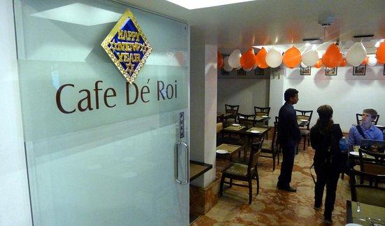 Hotel Le Roi: Cafe De Roi