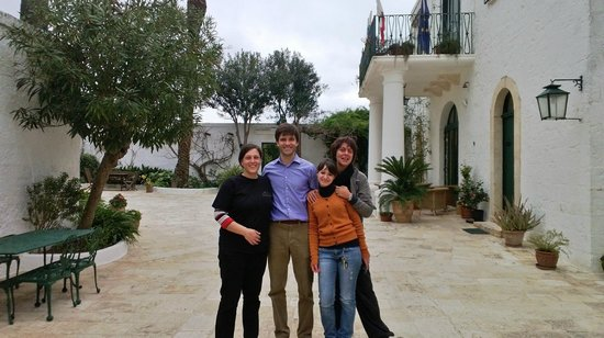 Masseria Il Frantoio : The friendly staff