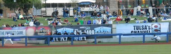 ONEOK Field: Grass Seating Area