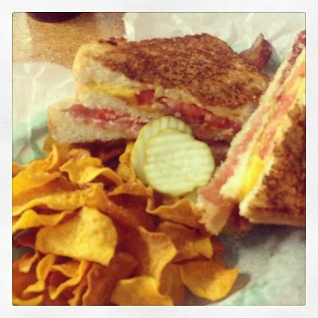 Florida Cracker Kitchen: Grilled Cheese Club Sandwich