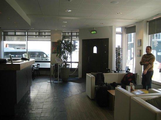 CenterHotel Klopp: Main lobby.