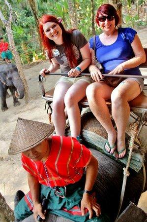 Siam Safari: We were on a much slower one (thankfully :))
