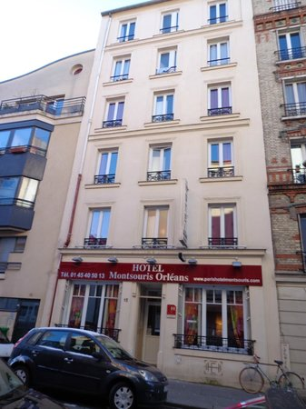 Fachada do hotel photo de hotel montsouris orleans paris tripadvisor - Hotel montsouris porte d orleans ...