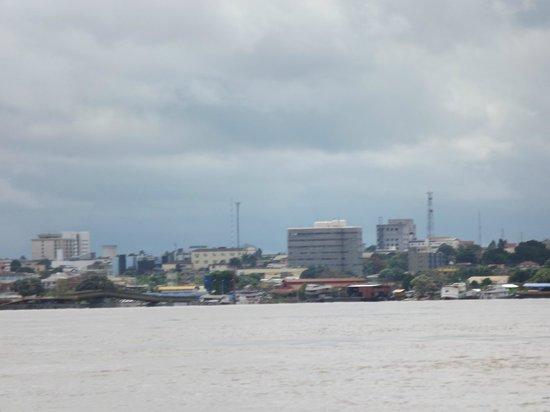 Passeio de barco pelo Rio Madeira: Porto Velho