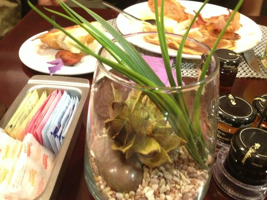 The Westin Tysons Corner: my breakfast table cute cactus home just nice decorating