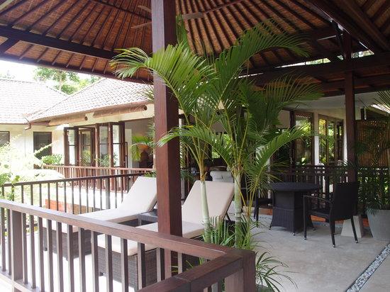 Villa Saraswati: Upstairs Pavilion