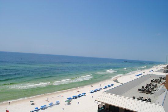 Holiday Inn Resort Panama City Beach: From our balcony 11th floor
