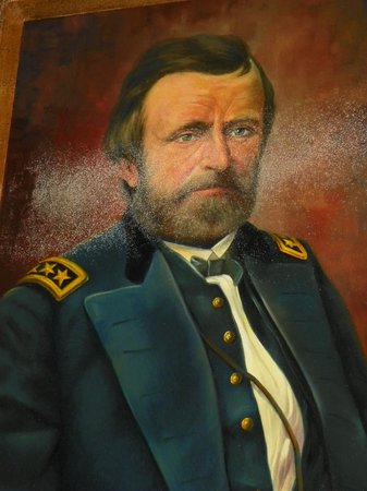 Victorian Mansion: Painting of General Grant