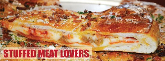 The Pizzeria: Stuffed Meat Lovers!