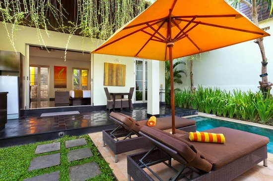 Sun Island Boutique Villas & Spa : Private Pool