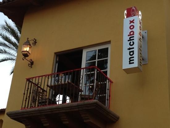 Brickworks Bistro : private balcony.