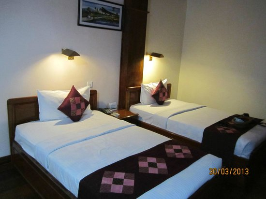 Ta Prohm Hotel: comfortable beds
