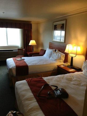 Holiday Inn Express Hotel & Suites Burlington : Double Bed Room