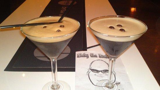 One Up Bar & Bistro: Esspresso Martini Cocktails