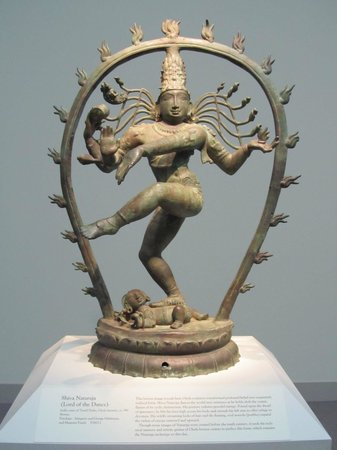 Smithsonian Institution Freer Gallery of Art and Arthur M. Sackler Gallery: Shiva Nataraja statue. India.  circa 990.