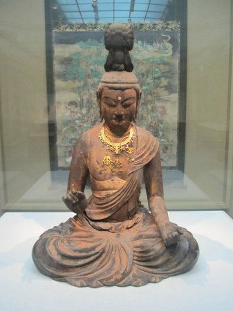 Smithsonian Institution Freer Gallery of Art and Arthur M. Sackler Gallery: Japanese buddha statue
