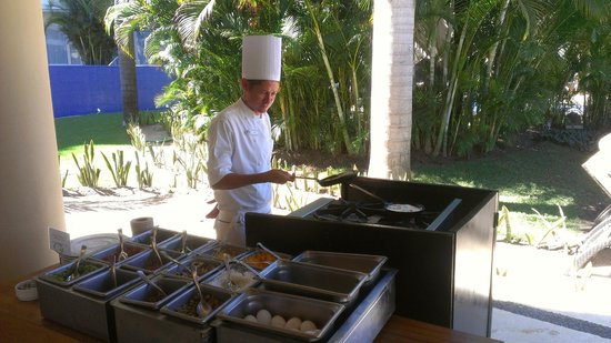 Marival Residences Luxury Resort: BBQ