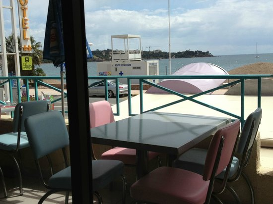 Happy Days : la terrasse