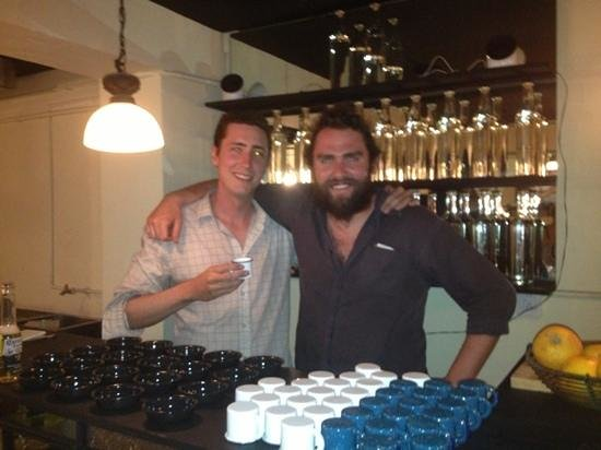 Stayinn Barefoot Condesa: Opening of the mezcalería with one of our guests.