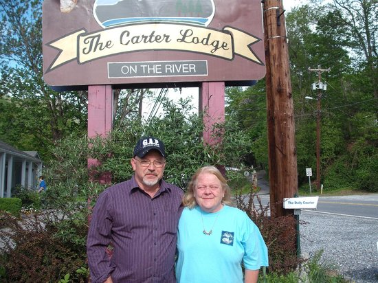 Carter Lodge: Joe was happ to take our picture