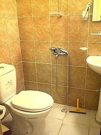 Fethiye Guest House: the dodgy toilet/shower combination