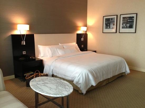 The Westin Kuala Lumpur: Fantastic comfortable bed.