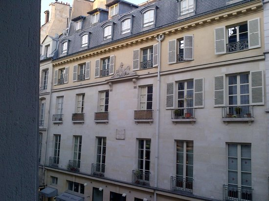 Left Bank Saint Germain: View from room