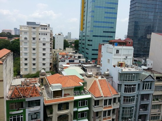 Saigon Sky Garden : City View from the balcony