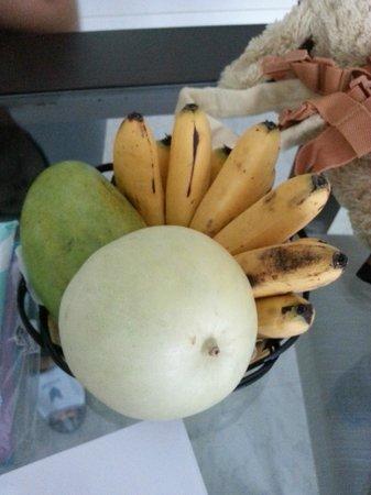 Saigon Sky Garden : The welcome fruits