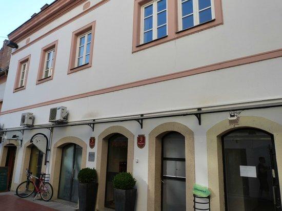 Hotel Jagerhorn: entrée
