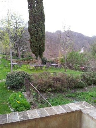 La Tavola dei Cavalieri: Il giardino