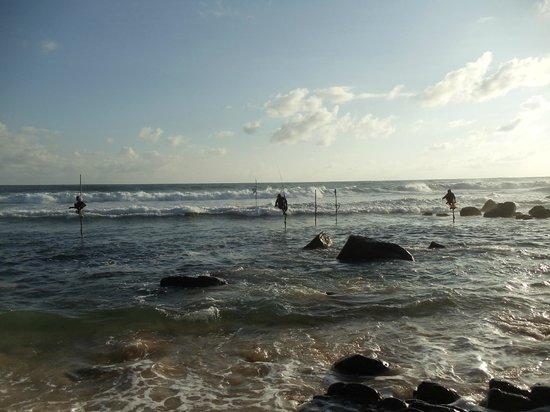 Amanda Beach Villa : Это отлив, когда прилив то огромные волны