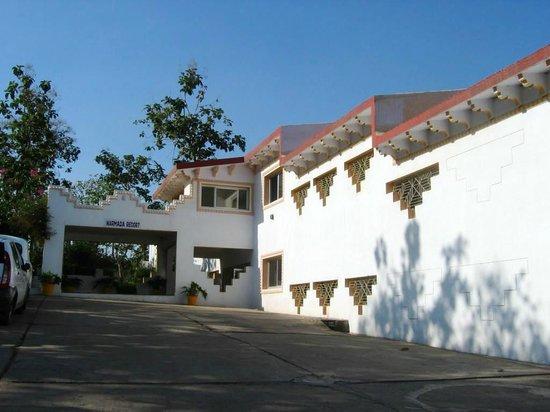 Marmada Resort: entrée