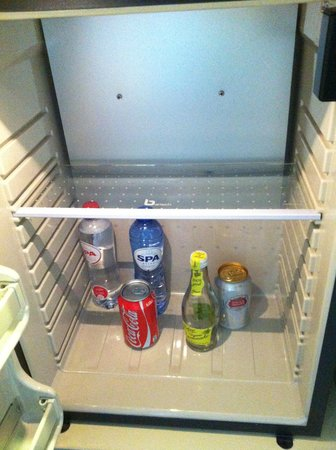 The Hotel - Brussels: Free minibar