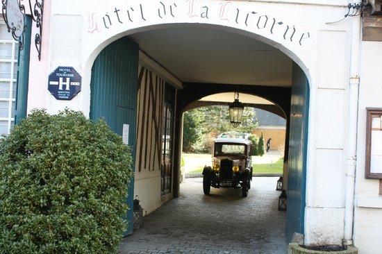 Hotel La Licorne : Patrimoine ancien