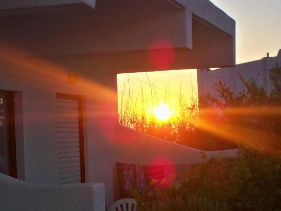 Kalithea Apartments : Sunrise from our Patio chair