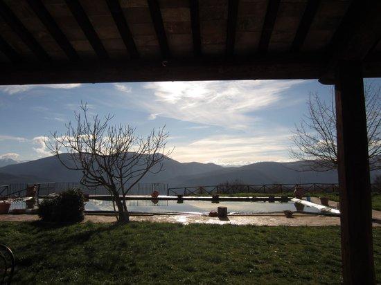 Agriturismo Santa Serena: vista dall'appartamento