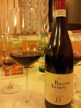 Hotel Borghetti: l'Amarone
